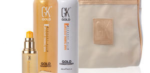 GK hair Gold Line set
