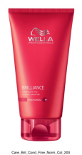 Wella Professional Care Brilliance Conditioner Fine/Normal 200ml Kondicionér pro jemné barvené vlasy