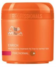 Wella Professional Care Enrich Mask Fine/Normal 150ml Hydratační maska pro jemné vlasy