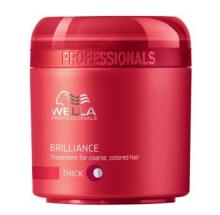 Wella Professional Care Brilliance mask Coarse 150ml Maska pro silné barvené vlasy