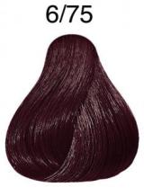 Wella Koleston Perfect barva 6/75 tmavá blond hnědá mahagonová 60ml
