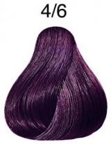 Wella Color Touch přeliv 4/6 středně hnědá fialová 60ml