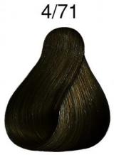 Wella Color Touch přeliv 4/71 středně hnědá hnědá popelavá 60ml