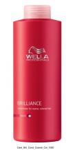 Wella Brilliance Kondicionér pro silné barvené vlasy 1000 ml
