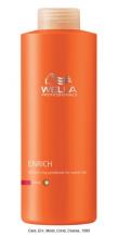 Wella Enrich Hydratační kondicionér pro pro silné vlasy 1000ml