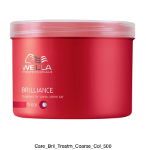 WELLA Brilliance Mask Coarse 500 ml