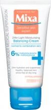 Mixa Moisturizing Balancing Cream 24 h lehký vyvažující hydratační krém 6% 50 ml