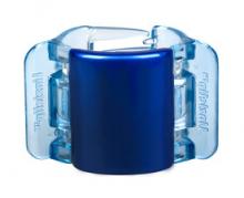 Linziclip MIDI perleťově modrý vlasový skřipec 1 ks