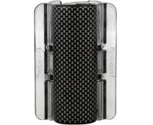 Linziclip MAXI perleťově černý s šedou mozaikou vlasový skřipec 1 ks