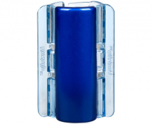 Linziclip MAXI perleťově modrý vlasový skřipec 1 ks