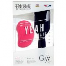 Tangle Teezer The Original Prepare & Perfect (Original Pink Fizz+Blow Styling Half Paddle)