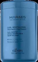 MARAES CURL REVITALIZING TREATMENT Revitalizační pečující maska pro kudrnaté, vlnité a krepaté vlasy 1l