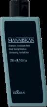 Kaaral Människan - Černý tónovací šampon 250 ml