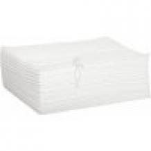 Jednorázový ručník z vlákniny extra hladký 70x50 cm (50 ks)